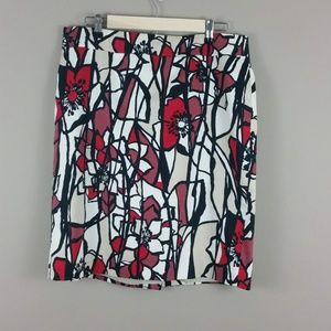 Ann Taylor Pencil Skirt Size 12 B75